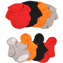 Dog Clothes Winter Dog Coat Jacket for Small Dogs Hoodies Pet Clothes Puppy Outfits Warm Yorkshire Chihuahua Clothes 9CY3(China)
