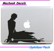 Kurosaki Ichigo Bleach Cartoon Sticker for Apple Macbook Skin Air 11 13 Pro 13 15 17 Retina Laptop Car Wall Vinyl Logo Decal
