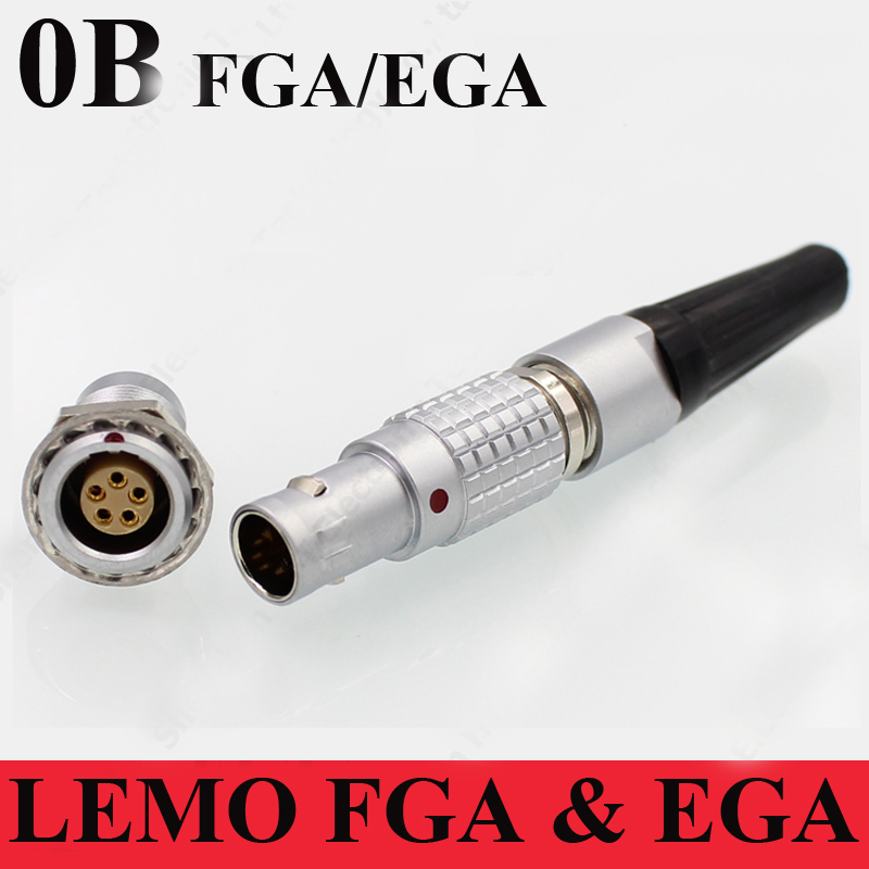 LEMO connector FGA EGA 2 3 4 5 6 7 9 Pin Connector LEMO FGA.0B.30*.CLAD**Z EGA.0B.30*.CLL Two Keying Plug Socket