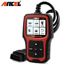 OBD2 Automotive Scanner Ancel AD410 Diagnostic Scanners with Russian OBD 2 OBD EOBD Erase Fault Error Code Readers Scan Tool(Hong Kong,China)