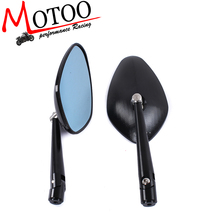 Motoo -Universal Street Sport Bike Motorcycle Rear Side View Bar End CNC Mirror mirrors
