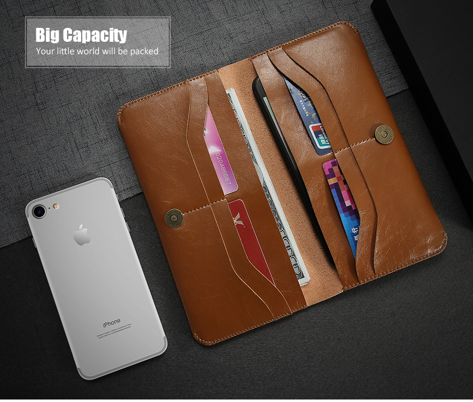 pu leather card holder holster (3)
