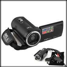 "by DHL or EMS 20 pieces 2.7"" TFT HD 720P 16X Digital Zoom 16MP Digital Video Camera CMOS Camcorder DVC(China)"