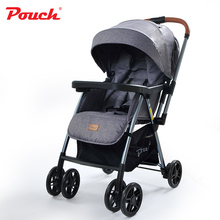 2016 New Design Pouch  Infant Convertible Stroller/Pram Stylish Aluminum Frame Baby Buggy  Children's Multifunction Trolley