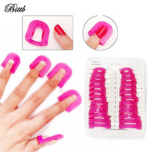 Bittb 26pc Nails Gel Model Clip Nail Polish Tools Anti-Overflow Case Cover,Nails Art Painting Fence Frame Nail Care Accessories(China)