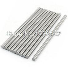 10 Pcs 4.3mm x 100mm HSS Graving Tool Turning Lathe Bars Silver Tone