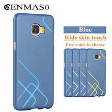 Brand Cenmaso for Samsung Galaxy C5 C5000 phone capa case DIY hit color fashion PC hard back cover for Galaxy C5 protect cases
