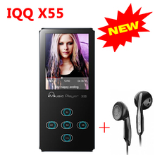 Aluminum Alloy Touch screen mp3 player 8GB mini usb MP3 Player with Built-in Speaker lossless HiFi player mp-3 walkman IQQ X55(China)