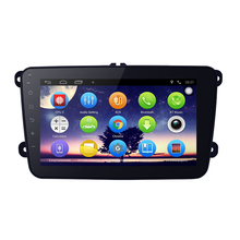 8inch Android 4.4.2 8inch Quad Core Car Media Player With GPS Navi Radio  For Skoda Octavia/Seat/Altea/Leon/Tolendo