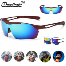 Windproof Dustproof Polarized Cycling Sunglasses Motorcycle Bicycle Goggles Bike Glasses Outdoor Sport Hiking Eyewear Spectacles(China)