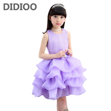 Kids Girls Formal Dresses Summer Children Party Dress for Girls Princess Dresses Infant Vestidos Girls Sundress Bow 2 9 12 Years