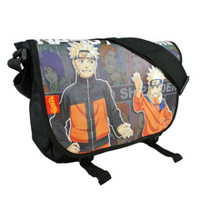 New Anime NARUTO Harajuku Cosplay Messenger Bag Boys Girls School Bags Kids Students Messenger Bookbags