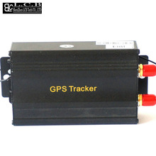 Covert car gsm gprs system,Mini vehicle remote control gps tracker TK 103B free shipping