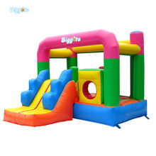 Inflatable Jumping Castle With Slide Inflatable Bounce House With Air Blowers And Repair Kit