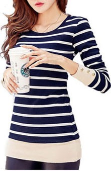 HTB1w9 VSpXXXXa1XVXXq6xXFXXXH - 2017 Autumn Winter Korean T-shirts For Women Cotton Fashion T Shirt
