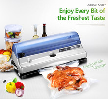 Amazing vacuum food saver packing sealing machine, vacuum sealer with roll cutter(China)