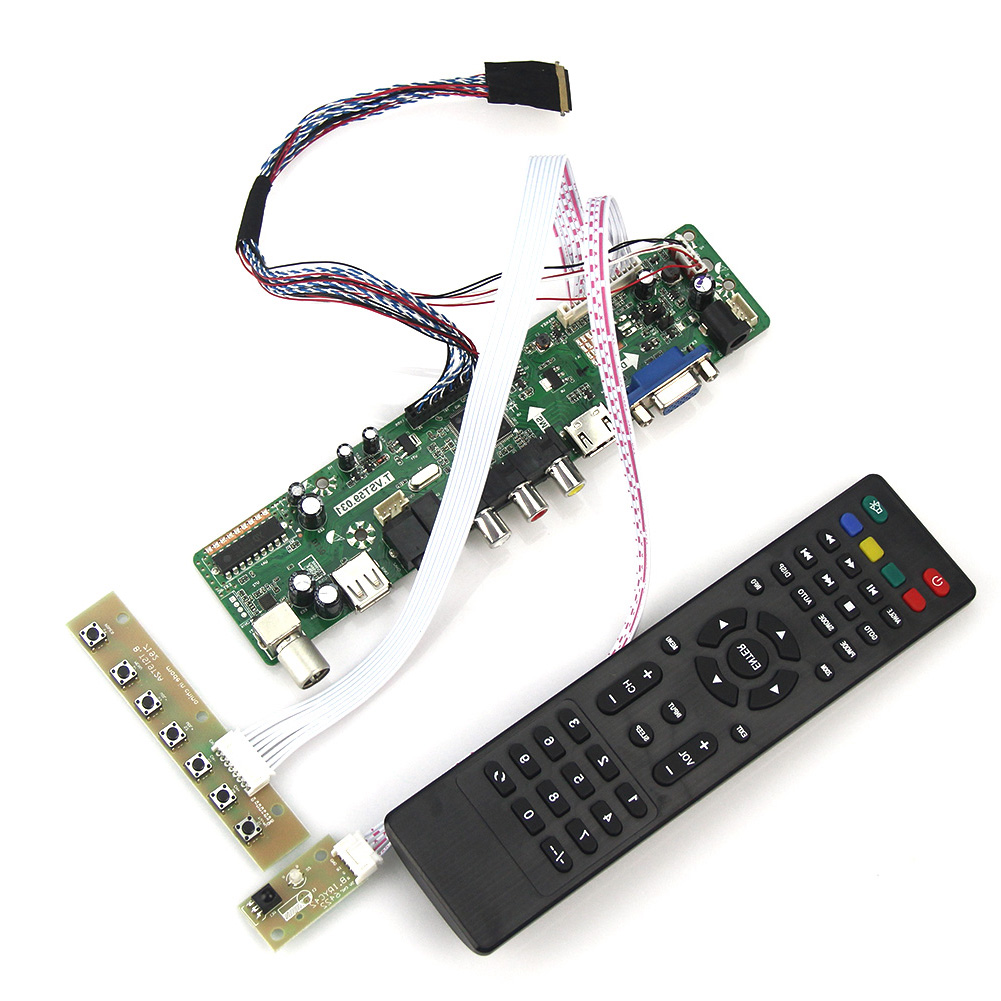 (TV+HDMI+VGA+CVBS+USB) For N121IB-L06 PQT.VST59.03 LCD/LED Controller Driver Board LVDS Reuse Laptop 1280x800<br>