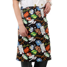 Free Shipping High quality chef aprons hotel uniform chef uniform  restaurant aprons cook uniform chef pinafore  Food Service