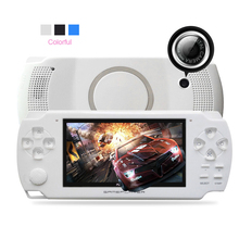 High quality 4.3 Inch Ultra-Thin 8GB Memory handheld game player Video Game Console MP5 Music Player Take pictures game console(China)