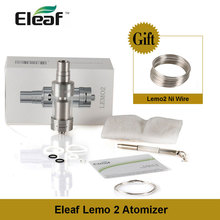 Clearance! Original Eleaf Lemo2 atomizer lemo 2 3.8ml Rebuildable Tank One Gift Wire/Cotton Electronic Cigarette Vape Accessory(China)