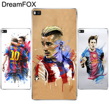 DREAMFOX L366 Fashion Football Superstar Soft TPU Silicone Case Cover For Huawei P8 P9 P10 Lite Plus 2017 Honor 8 Lite Pro 9 6X(China)