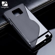 TAOYUNXI Sline TPU Silicon Phone Case For Samsung Galaxy SII I9100 4.3inch S2 GT-I9100 Cover Phone Accessories Bags Shell(China)