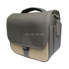 universal bag leisure Nylon Durable DSLR Camera Messenger Bag Case for Nikon Sony casio Samsung free shipping