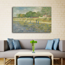 Big Size Vincent Van Gogh Famous Painting Reproduction Impressionist Oil Painting Printed On Canvas Wall Art  For Living Room