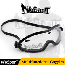 WoSporT Tactical Smith Optics BOOGIE REGULATOR GOGGLE Tactical Goggle American Helmet Anti Fog Riding Cycling Paintball Glasses(China)