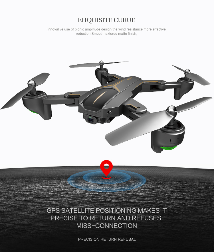 New Arriving VISUO XS812 GPS RC Drone with 2MP5MP HD Camera 5G WIFI FPV Altitude Hold One Key Return RC Quadcopter Helicopter 1 (7)