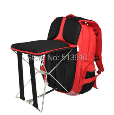 Playking Fishing Chair Outdoor Portable Folding Stool Backpack High Quality