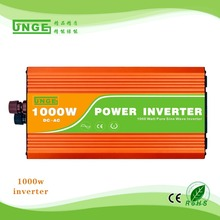 1000W inverter DC-AC 12v/24v/48v input to  output 110V/220v pure sine wave off grid power inverter car converter