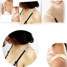 1 Pair Soft Silicone Bra Strap Cushions Holder Non-slip Shoulder Pads Relief Pain 2Colors