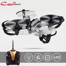 New arrival Yi Zhan X4 2.4G RC Quacopter With LCD Transmitter RTF RC Drone VS Hubsan H107C Syma X5C as Best Ghritmas Gift