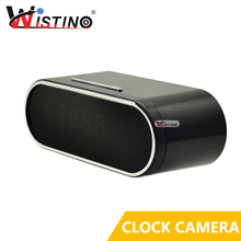 Wistino 1080P WIFI Camera Nanny Camera Black P2P IP Security Support IOS Android Motion Detection Home Security Wireless Camera(China)