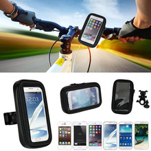 Bike bracket waterproof cell phone bag for iphone7 plus motorcycle vehicle-mounted shakeproof for iphone5s case