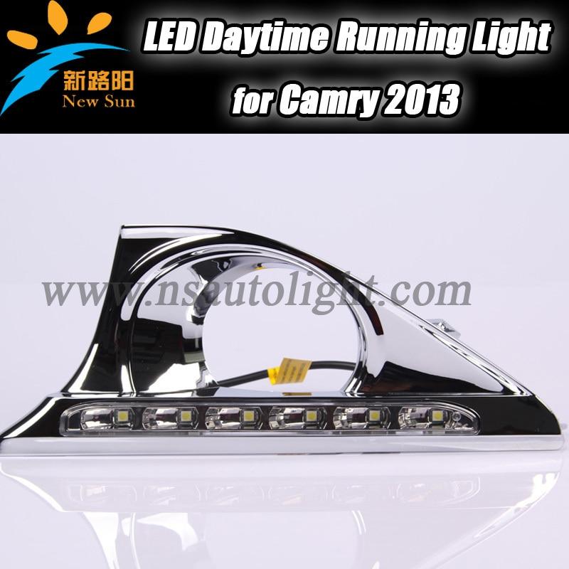 Excellent car-Specific running light drl lamp For TOYOTA Camry 2013 LED DRL light, 12v LED Daytime Running Light<br><br>Aliexpress