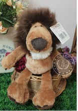 10 pieces a lot small cute stuffed lion toys the jungle lion doll birthday gift about 25cm