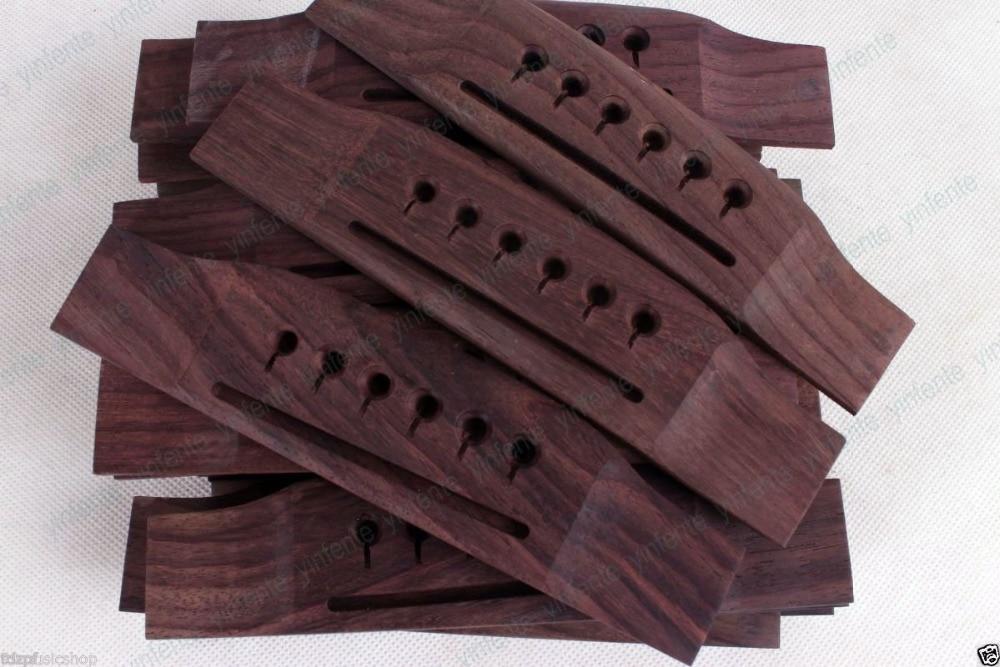 6 pcs 6 String Rosewood Guitar Bridge For Acoustic Guitar<br>