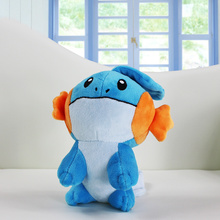 1Pcs 14cm~20cm Mudkip Plush Toys Stuffed Soft Dolls For Children Xmas Gift Retail