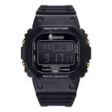 2016 NEW Military Men Digital Sport Watch Date Alarm Diver 30 m Waterproof   Free Shipping