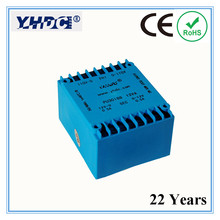 PU3018B 22 Years' manufacturer Double input and output 10VA /2*115V/2*12V PCB encapsulated transformer