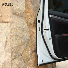 Door Edge Guards Trim Molding Protection Strip Scratch Protector Car Crash Barriers Door Guard Collision Car Sticker(China)