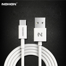 Original NOHON USB Type-C Cable USB 2.0 Charger Data Sync Cable 4 Pin For Xiaomi 4C MacBook Nokia N1 OnePlus 2 Nexus 6P 5X ZUK(China)