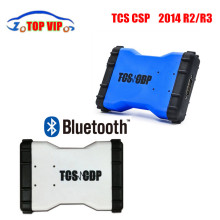 Top selling 5 pcs / lot Tcs cdp 2014.2 TCS CDP With Bluetooth Optional  TCS CDP pro CDP PRO Diagnostic tool Support Multi Cars