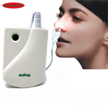 BioNase Nose Rhinitis Sinusitis Cure Therapy Massage Hay fever Low Frequency Pulse Laser HealthCare Machine instrument Massager