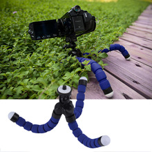 in stock ! Universal Octopus Mini Tripod Supports Stand Spong For Mobile Phones Cameras