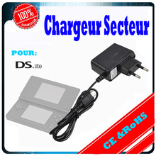 50pcs/lot for Nintendo DSL AC Adapter Power Supply Charger with Cable NDS Lite Game Console Charging Equipment Wholesale