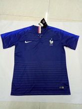 2018 World Cup Soccer Jersey France national maillot 2018 Ribery Zidane Benzema Griezmann Pogba Henry Football Shirts(China)