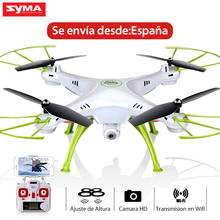 SYMA X5HW FPV RC Quadcopter Drone with WIFI Camera 2.4G 4CH RC Helicopter Quadrocopter Toys Dron Ship from Spain